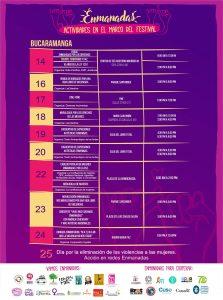 Agenda festival enmanadas